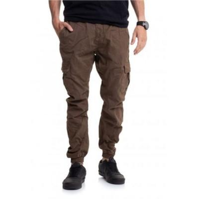 アーバンクラシックス Urban Classics メンズ カーゴパンツ ボトムス・パンツ - Cargo Jogging Darkground - Pants brown