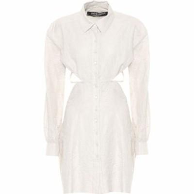 ジャックムス Jacquemus レディース ワンピース シャツワンピース ワンピース・ドレス La Robe Cavaou Courte Cotton-Blend Shirt Dress