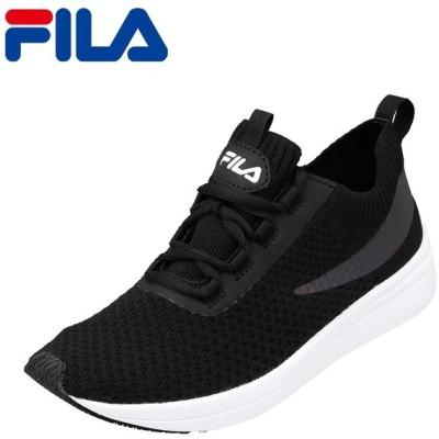 フィラ FILA FC-5221W レディース | スニーカー | フィット性 ぴったり | ニット素材 | ブランド 人気 | ブラック