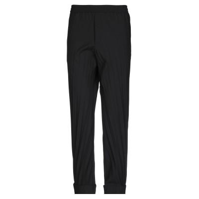 ヴァレンティノ VALENTINO パンツ ブラック 46 ポリエステル 53% / バージンウール 43% / ポリウレタン 4% パンツ