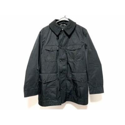 バーバリーロンドン Burberry LONDON コート サイズM メンズ - 黒 長袖/冬【中古】20210201
