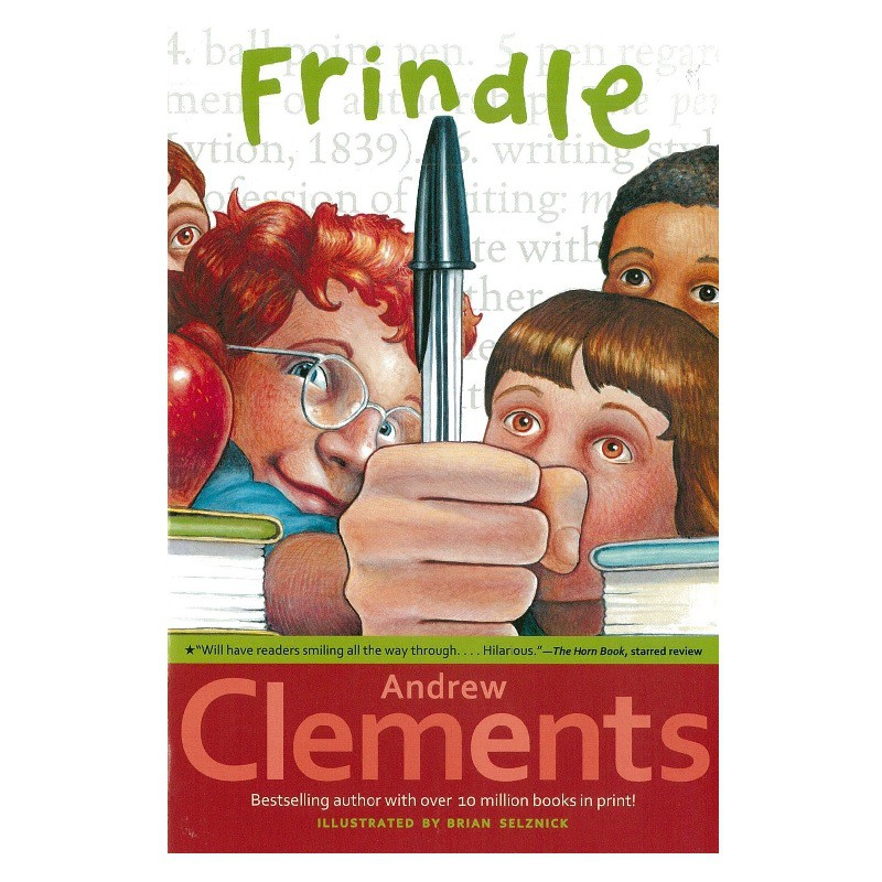 Frindle《我們叫它粉靈豆》青少年英文小說 Andrew Clements