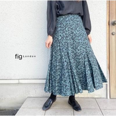 fig london フィグロンドン mono garden マーメイドスカート 70-01-OP-001-20-2