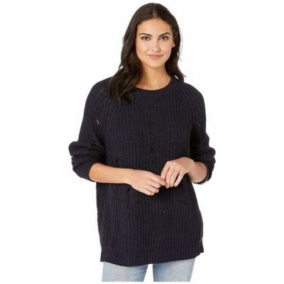 ビジョッププラスヤング ニット&セーター アウター レディース Simone Sweater Navy