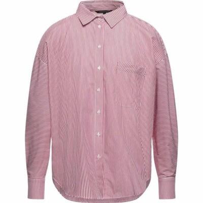 アルマーニ ARMANI EXCHANGE メンズ シャツ トップス striped shirt Red