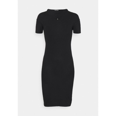 ヴィヴィアンウエストウッド ワンピース レディース トップス TUBE DRESS - Jersey dress - black