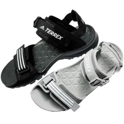ベルーナ <adidas>ウルトラサンダル ブラック 24.5cm レディース