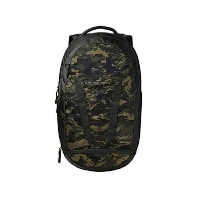 (取寄)アンダーアーマー ハッスル バックパック Under Armour Hustle 5.0 Backpack Baroque Green/Black