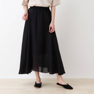 シューラルー SHOO-LA-RUE カラースカート (ブラック)