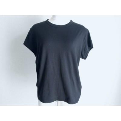 #snc マーガレット・ハウエル MargaretHowell カットソー Tシャツ II 黒 レディース [568090]