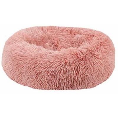 ドーナツ猫ベッド 大型、中型、小型犬に適したラウンドドッグベッド超ソフ (中古品)