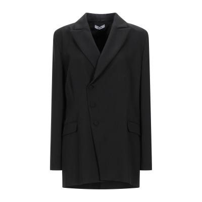 ジジル JIJIL ライトコート ブラック 44 ポリエステル 75% / レーヨン 20% / ポリウレタン 5% ライトコート