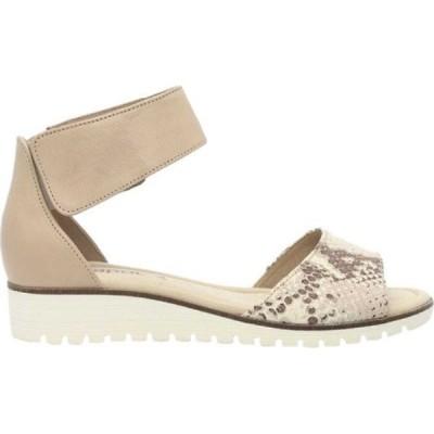 ガボール レディース サンダル・ミュール シューズ・靴 84-570 Ankle Strap Sandal Beige Leather