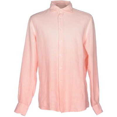 グランシャツ GLANSHIRT シャツ ピンク 40 麻 100% シャツ