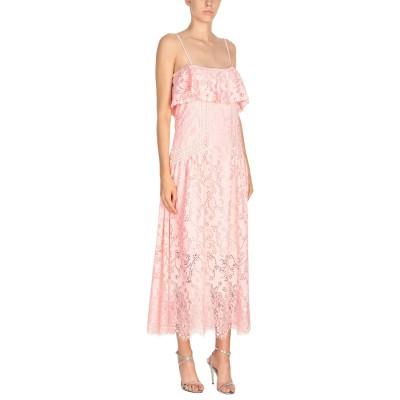 ピンコ PINKO ロングワンピース&ドレス ピンク 40 ナイロン 91% / レーヨン 9% / ポリエステル ロングワンピース&ドレス