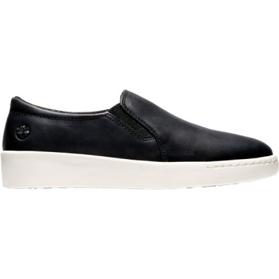 ティンバーランド スニーカー シューズ レディース Timberland Women's Teya Gore Slip-On Casual Shoes JetBlack