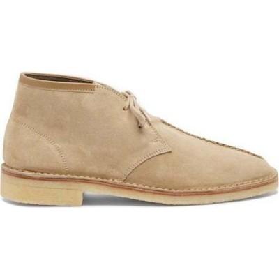 ルメール Lemaire メンズ ブーツ シューズ・靴 Crepe-sole suede desert boots Beige