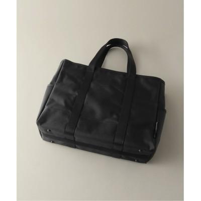 【エディフィス】 BUSINESS TOTE BAG メンズ ブラック フリー EDIFICE