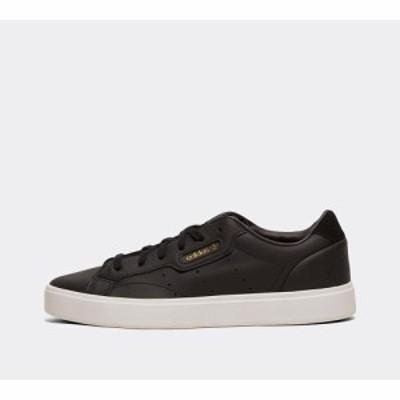 アディダス adidas Originals レディース スニーカー シューズ・靴 sleek trainer Black/Crystal White