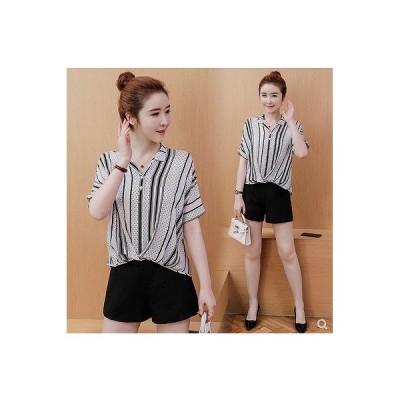 大きいサイズM-4XL ファッション/人気Tシャツ ホワイト/ブラック2色展開