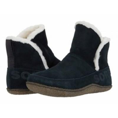 SOREL ソレル レディース 女性用 シューズ 靴 ブーツ アンクル ショートブーツ Nakiska(TM) Bootie Black/Natural【送料無料】