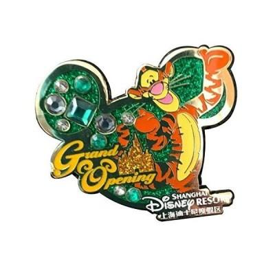 ディズニー上海リゾートグランドオープニングティガー くまのプーさん 限定リリースピン 並行輸入品