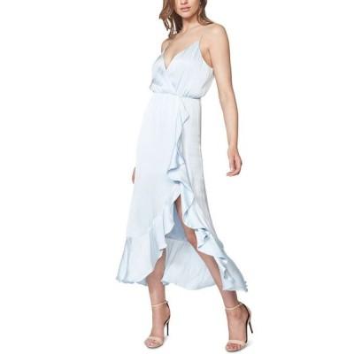 バードット レディース ワンピース トップス Aaliyah Faux-Wrap Midi Dress