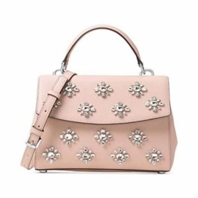 マイケルコース アメリカ 直輸入 Michael Kors Womens Ava Leather Convertible Satchel Handbag Pink