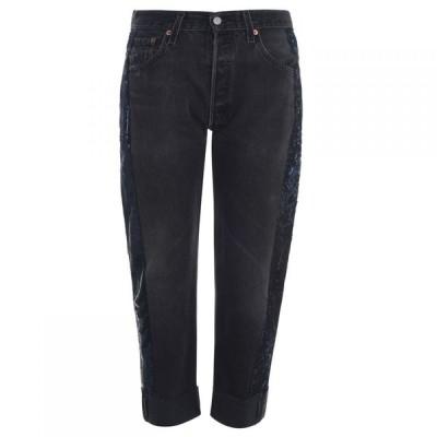 ケンダルアンドカイリー Kendall and Kylie レディース ジーンズ・デニム ボトムス・パンツ Sequin Jeans Black/Navy