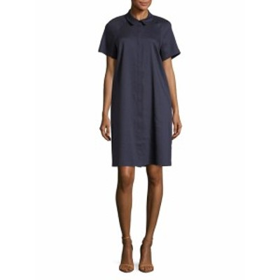 ラファイエット148ニューヨーク レディース ワンピース Shaylin Linen Shirtdress