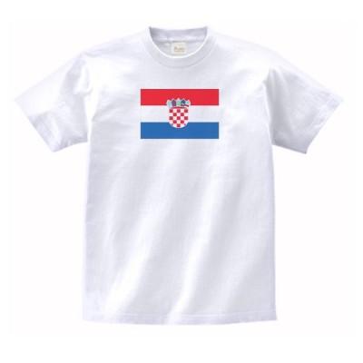 クロアチア 国 国旗 Tシャツ