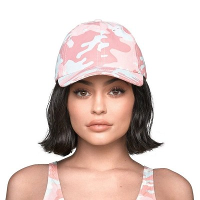 THE OFFICIAL KYLIE JENNER SHOP CAMO DAD HAT - CANDY
