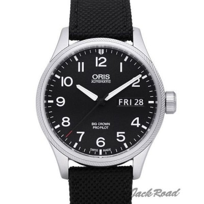 オリス ORIS ビッグクラウン プロパイロット デイデイト 752 7698 4164DC 【新品】 時計 メンズ