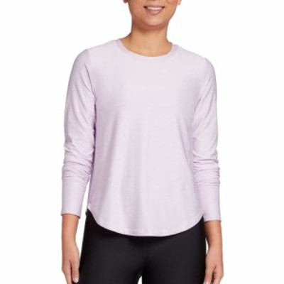 DSG レディース トップス 365 Heather Long Sleeve Shirt Purple Amethyst