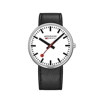 特別価格Mondaine Official Swiss Railways Giant Backlight Pay Chip Watch 42mm   Whit好評販売中