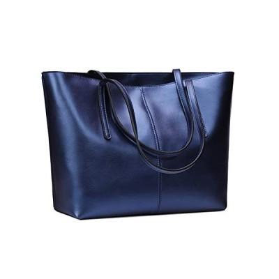 Anynow Luxurious Women's Genuine Leather Handbag Fashion Cowhide Shoulder B
