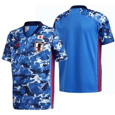 サッカー日本代表 2020 キッズ ホーム レプリカ ユニフォーム / JAPAN HOME KIDS JERSEY  adidas アディダス 日本代表 ウェア プラシャツ 20SS(GEM06-ED7345)