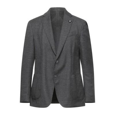ラルディーニ LARDINI テーラードジャケット グレー 50 ウール 45% / ポリエステル 34% / ナイロン 11% / レーヨン 10