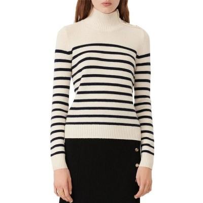 マージュ レディース ニット・セーター アウター Montsi Striped Cashmere Sweater