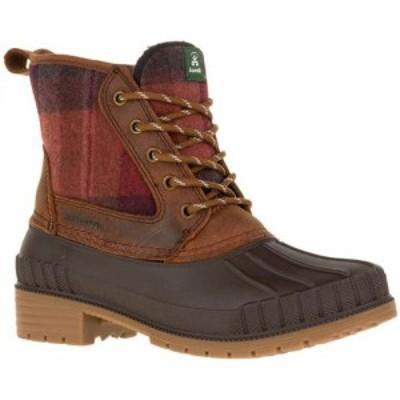 カミック Kamik レディース ブーツ ウインターブーツ シューズ・靴 Sienna Mid 200g Waterproof Winter Boots Dark Brown