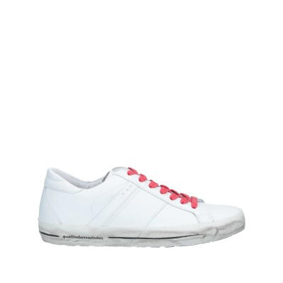 QUATTROBARRADODICI スニーカー&テニスシューズ(ローカット) ホワイト 36 革 スニーカー&テニスシューズ(ローカット)