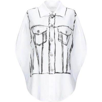 MM6 メゾン マルジェラ MM6 MAISON MARGIELA シャツ ホワイト one size コットン 100% シャツ