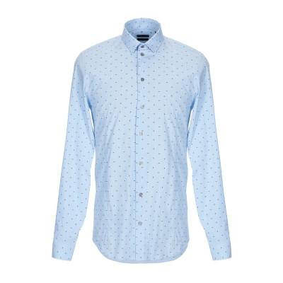 パトリツィア ペペ PATRIZIA PEPE シャツ ブルー 46 コットン 75% / ナイロン 21% / ポリウレタン 4% シャツ