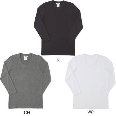 エムエックスピー メンズ 長袖Tシャツ Vネック8分袖シャツ MX15342