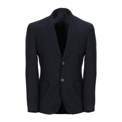 ANTONIONI Milano テーラードジャケット ダークブルー 46 ポリエステル 63% / レーヨン 34% / ポリウレタン 3% テー
