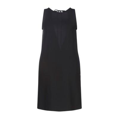 OTTOD'AME ミニワンピース&ドレス ブラック XXS ポリエステル 97% / ポリウレタン 3% ミニワンピース&ドレス