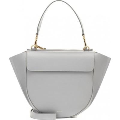 ワンダラー Wandler レディース ショルダーバッグ バッグ Hortensia Medium Leather Shoulder Bag Mouse