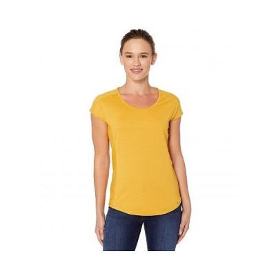 Marmot マーモット レディース 女性用 ファッション Tシャツ Kitsilano Short Sleeve Shirt - Yellow Gold