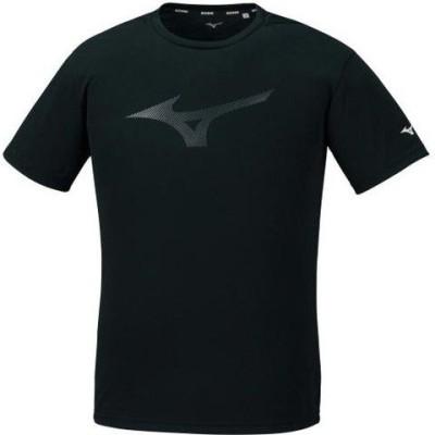 ミズノ メンズ フィーリンテックTシャツ(ブラック・サイズ:L) mizuno 32MA102409L 【返品種別A】