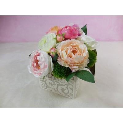 アートフラワー Aアレンジ インテリア 花 プレゼント 結婚記念日 女性 お祝い 贈り物 ギフト